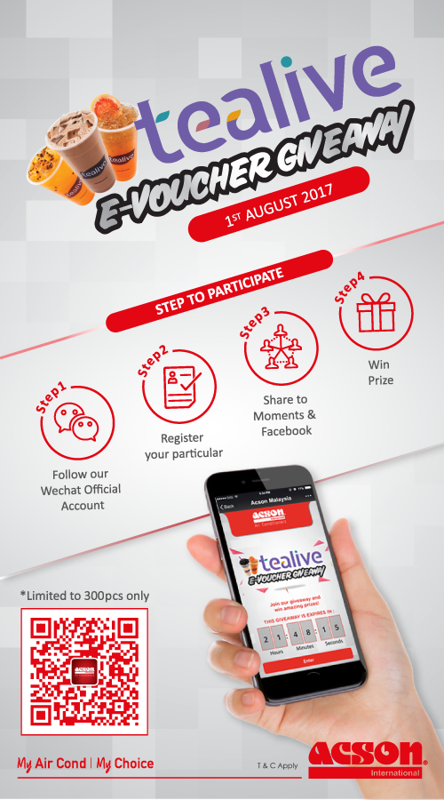 tealive voucher giveaway acson mobile