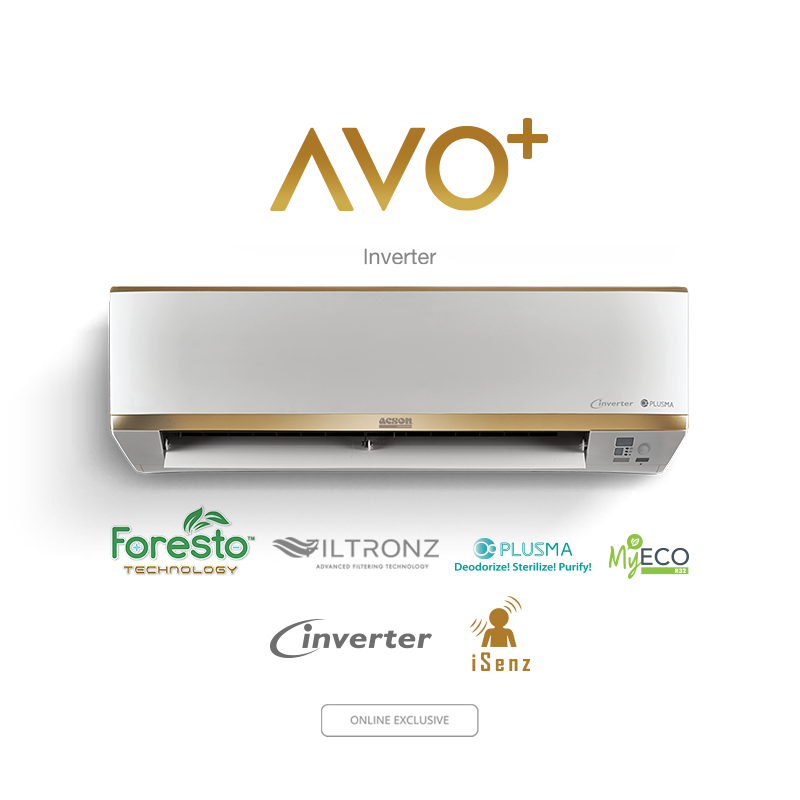 Wall Mounted Air Conditioner Malaysia Avo Plus
