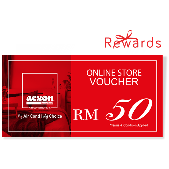 Picture of Acson Online Store Voucher RM50