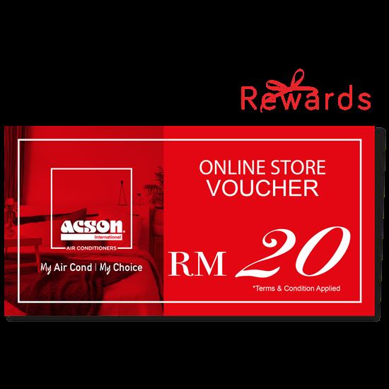 Acson Online Store Voucher Rm20 Air Conditioner Acson
